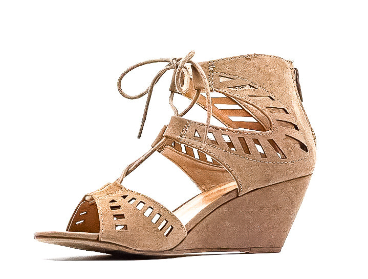 Material Girl | Halona Wedge Sandals