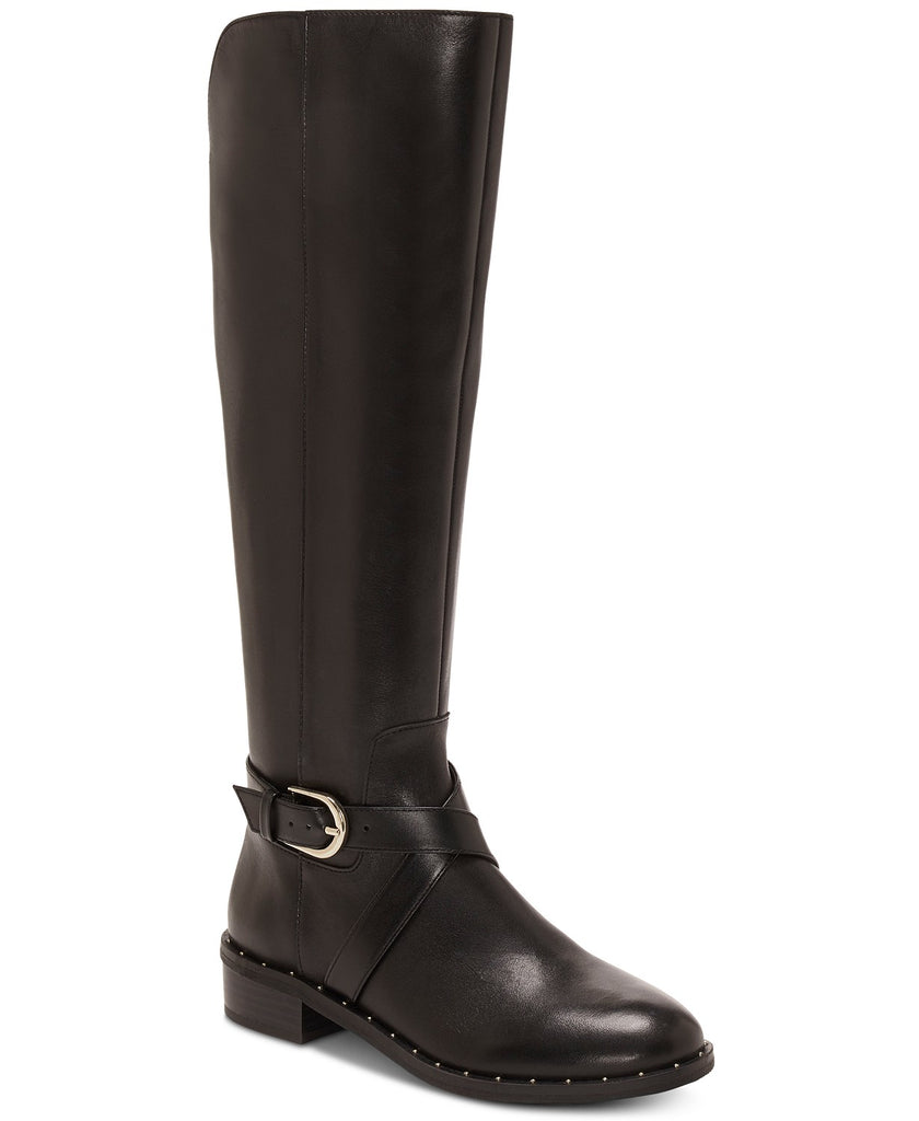 Yieldings Discount Shoes Store's Fadora Riding Boots by INC in Black