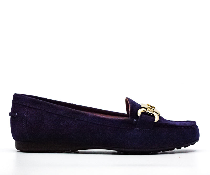 Yieldings Discount Shoes Store's Carson Flats by Kate Spade in Marine Blue