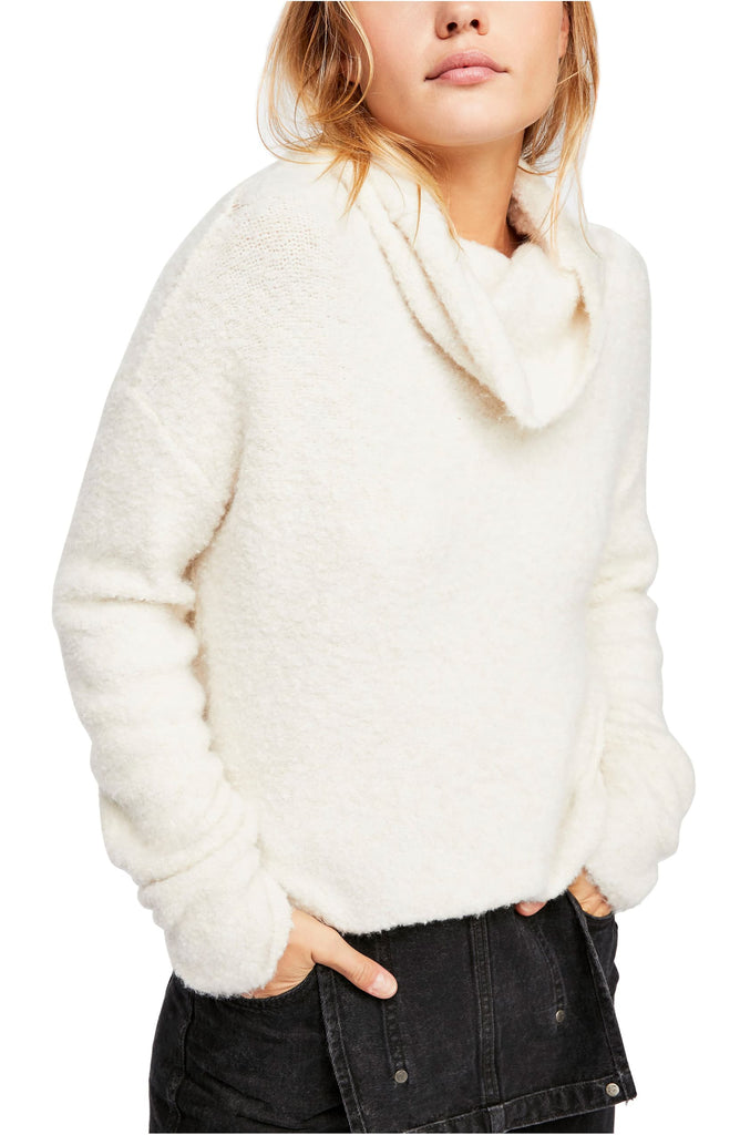 Yieldings Discount Clothing Store's Stormy Pullover Sweater by Free People in Neutral