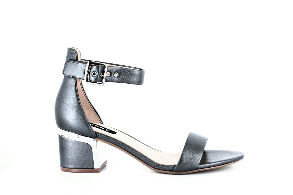 Yieldings Discount Shoes Store's Henley Ankle Strap Sandals by DKNY in Stone