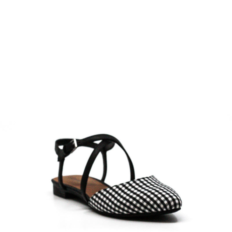 Yieldings Discount Shoes Store's Genetic 3 Fabric Flats by Indigo Rd. in Black