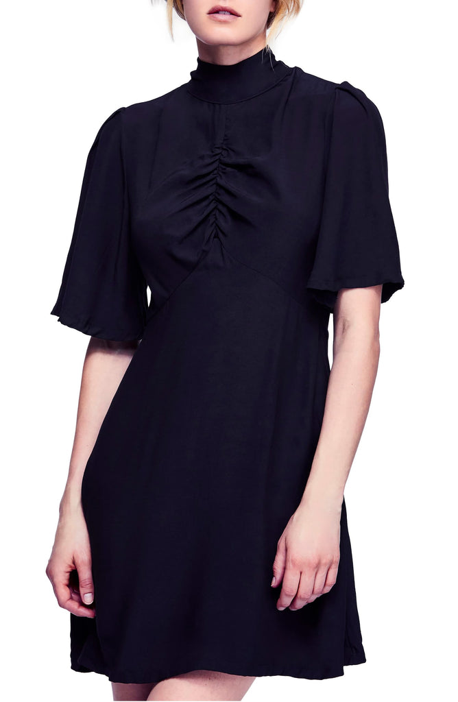 Yieldings Discount Clothing Store's Be My Baby Dress by Free People in Black