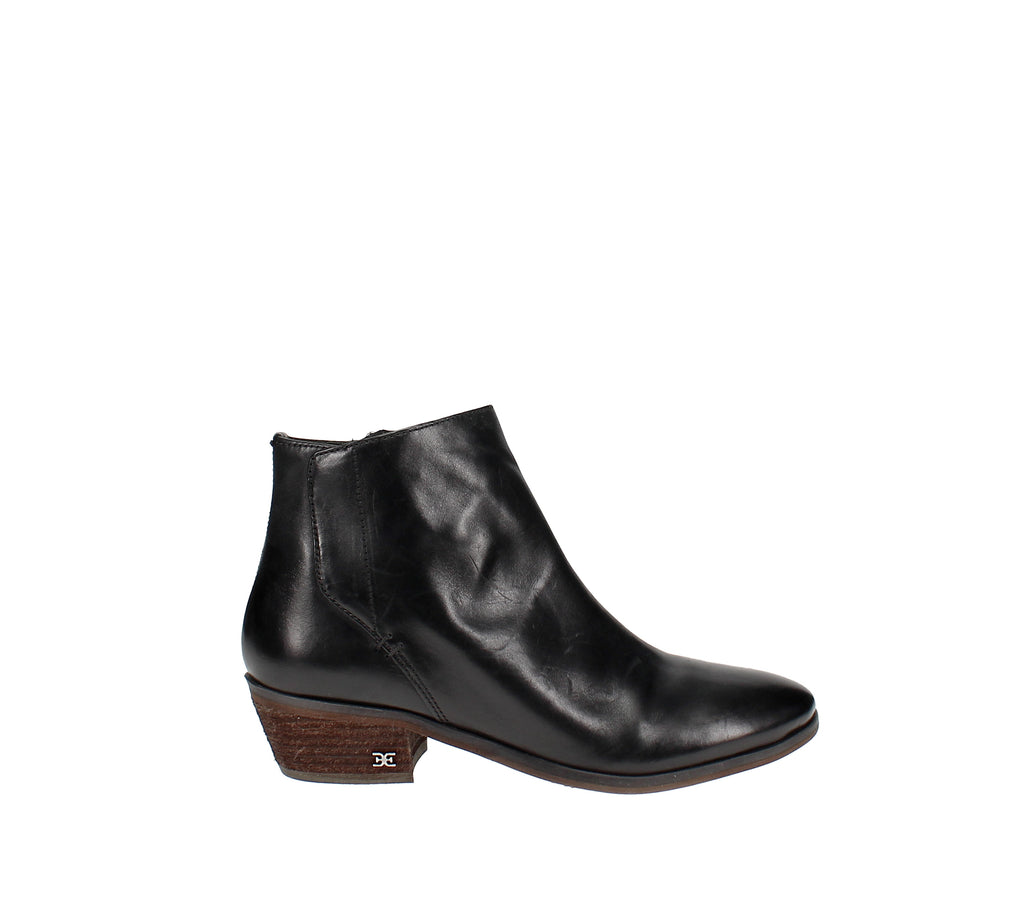 Yieldings Discount Shoes Store's Pama Booties by Sam Edelman in Black