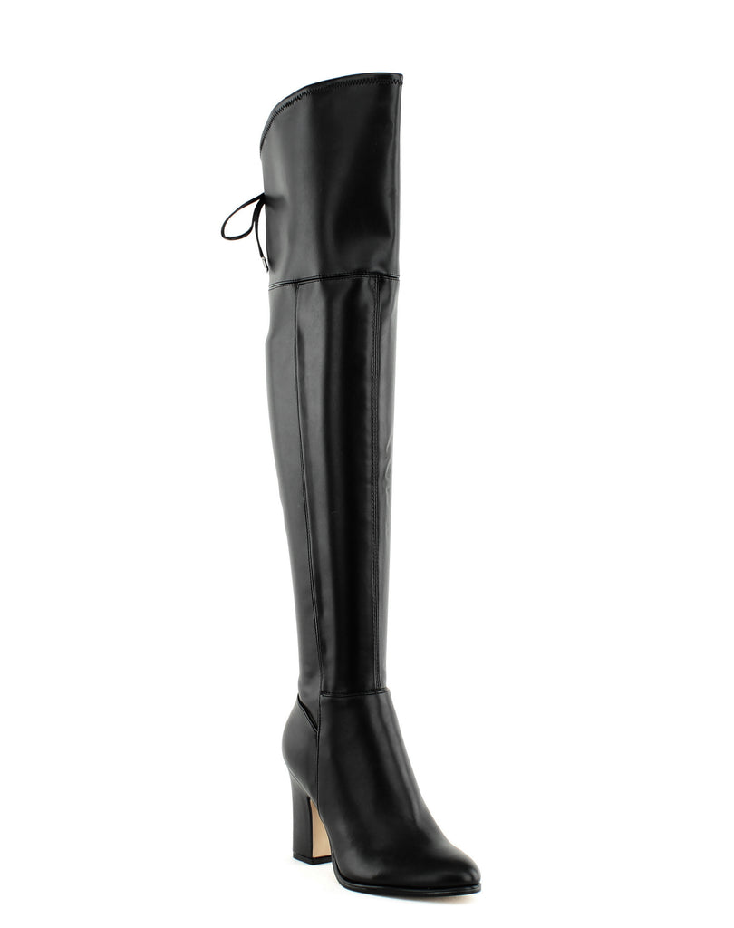 Yieldings Discount Shoes Store's Neela2 Over The Knee Boots by Marc Fisher in Black