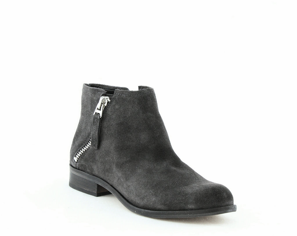 Yieldings Discount Shoes Store's Vesa Leather Ankle Booties by Dolce Vita in Anthracite