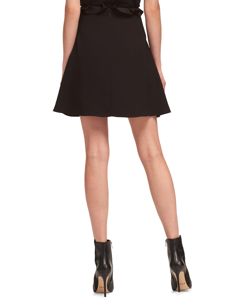 Yieldings Discount Clothing Store's Ribbon-Tie Skirt by DKNY in Black