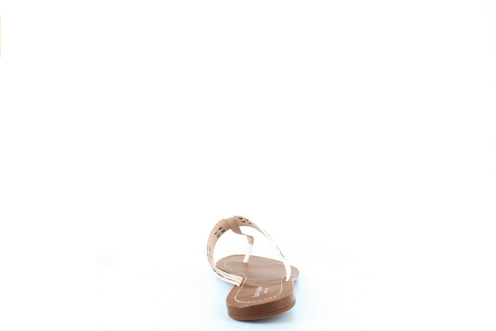 Yieldings Discount Shoes Store's Carol Flat Sandals by Kate Spade in White