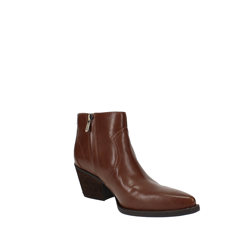 Yieldings Discount Shoes Store's Whistler Ankle Booties by Circus by Sam Edelman in Deep-Saddle