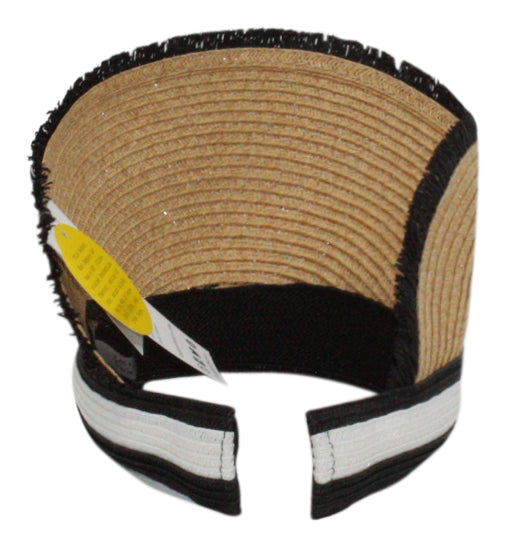 August Hat Co | Colorblock Straw Visor