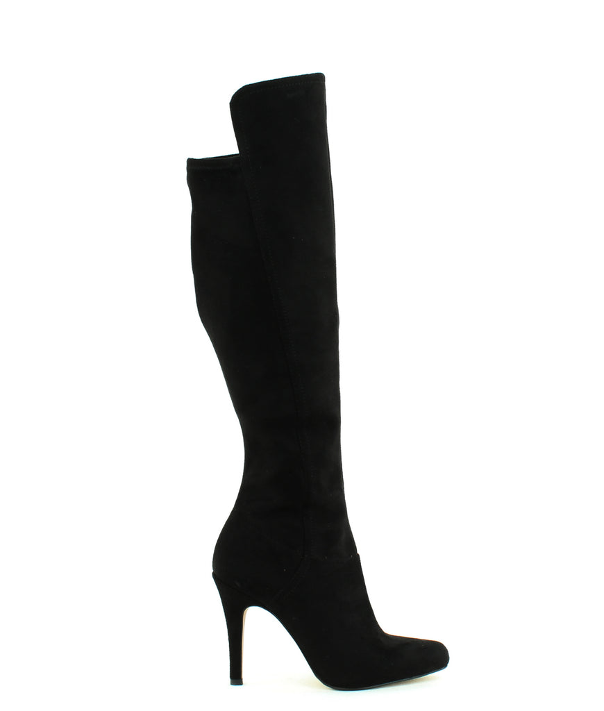 Yieldings Discount Shoes Store's Tacy Knee High Boots by INC in Black