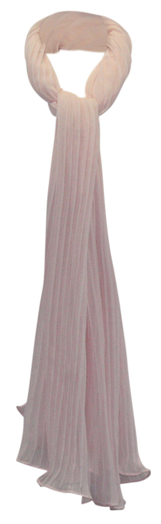 Betsey Johnson | Solid Georgette Pleated Evening Wrap