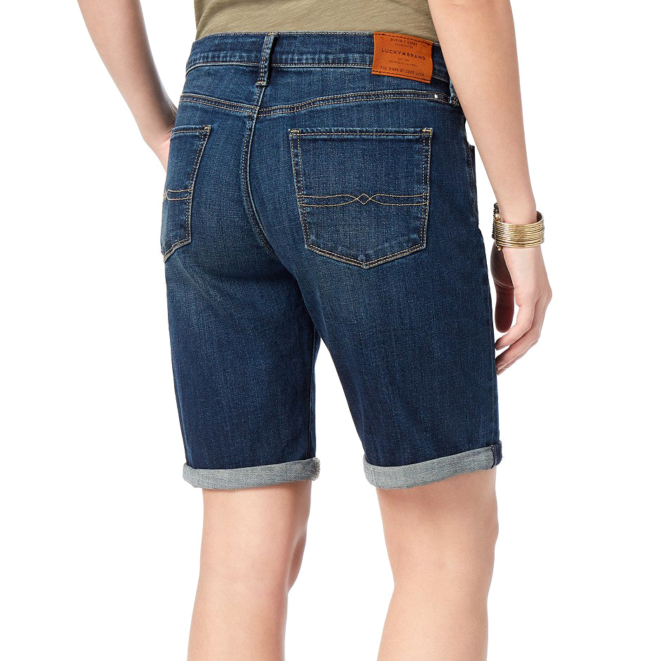 Yieldings Discount Clothing Store's The Bermuda Short by Lucky Brand in Navy