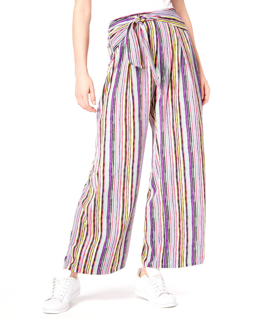 Yieldings Discount Clothing Store's Striped Pull-On Pants by Bar III in Painter Multi