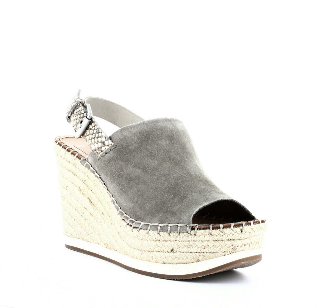Yieldings Discount Shoes Store's Shan Espadrille Wedges by Dolce Vita in Sage