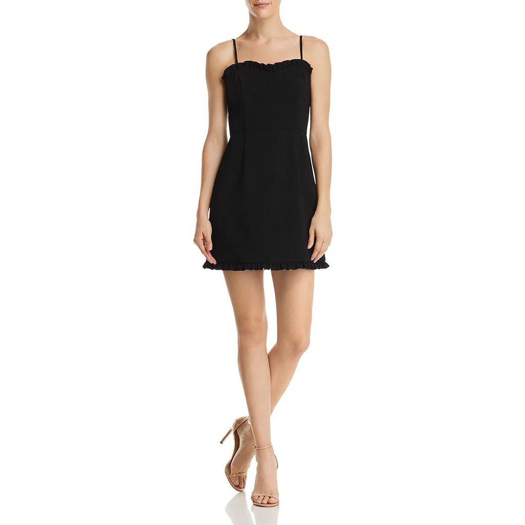 Yieldings Discount Clothing Store's Whisper Strapless Minidress by French Connection in Black