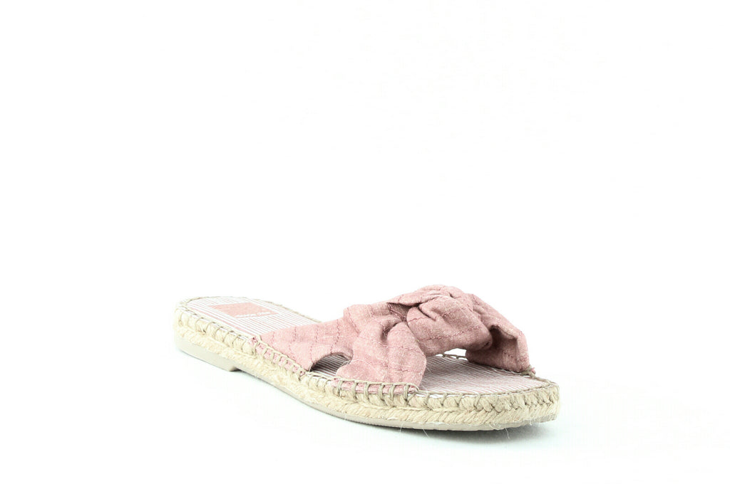 Yieldings Discount Shoes Store's Benicia Slides by Dolce Vita in Blush Linen