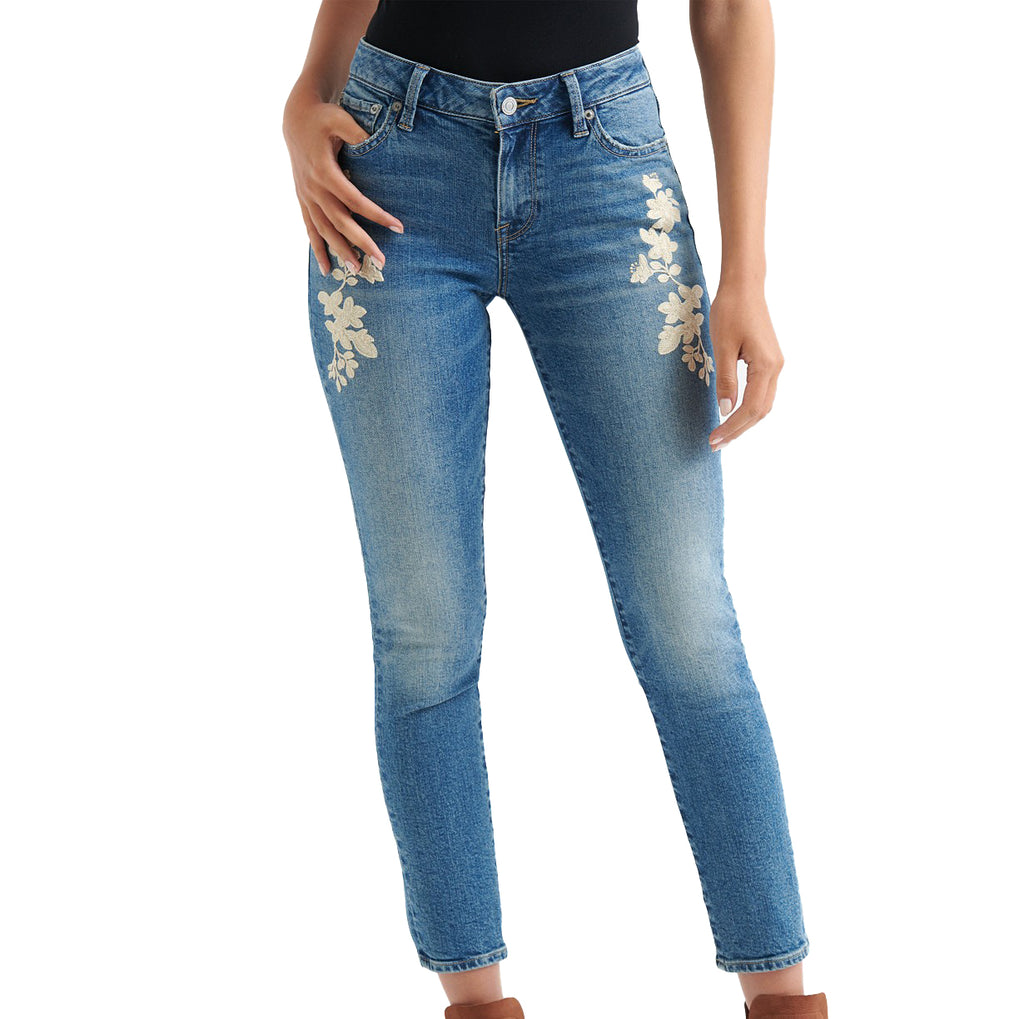 Lucky Brand | Avon Embroidery-Accent Lolita Skinny Jeans