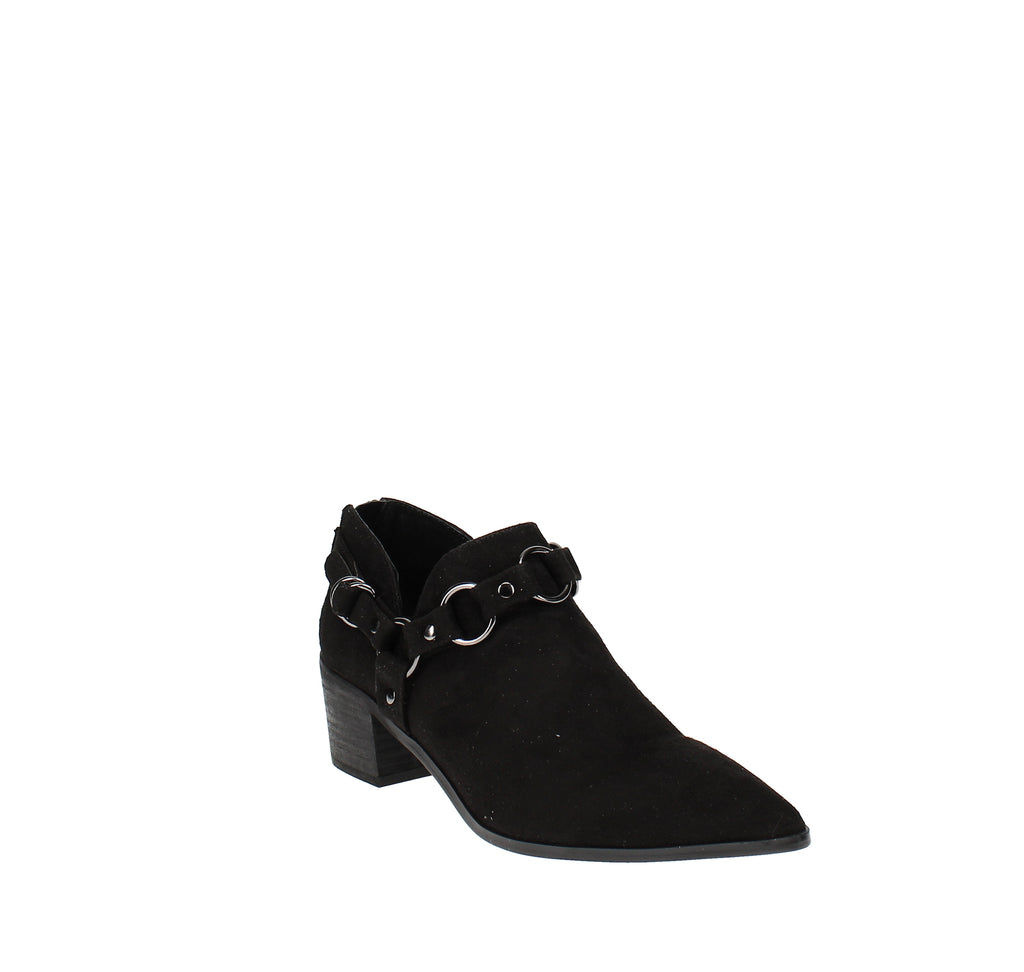Yieldings Discount Shoes Store's Pointer Ankle Booties by Carlos by Carlos Santana in Black