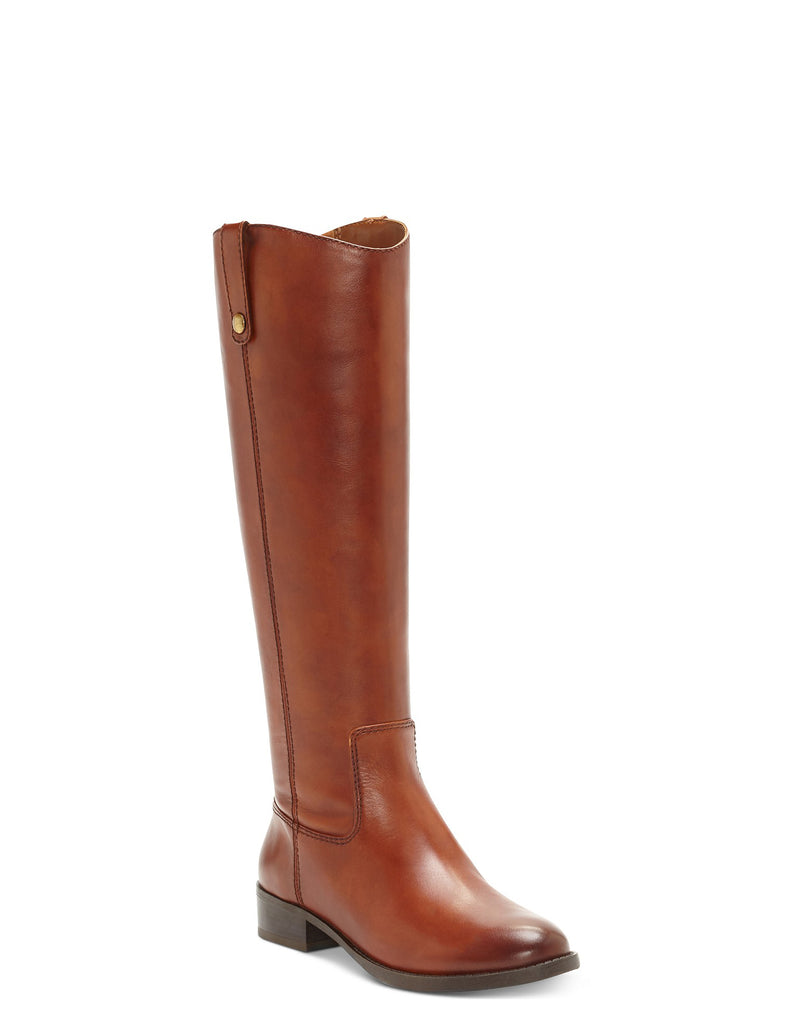 INC | Fawne Leather Knee-High Riding Boots