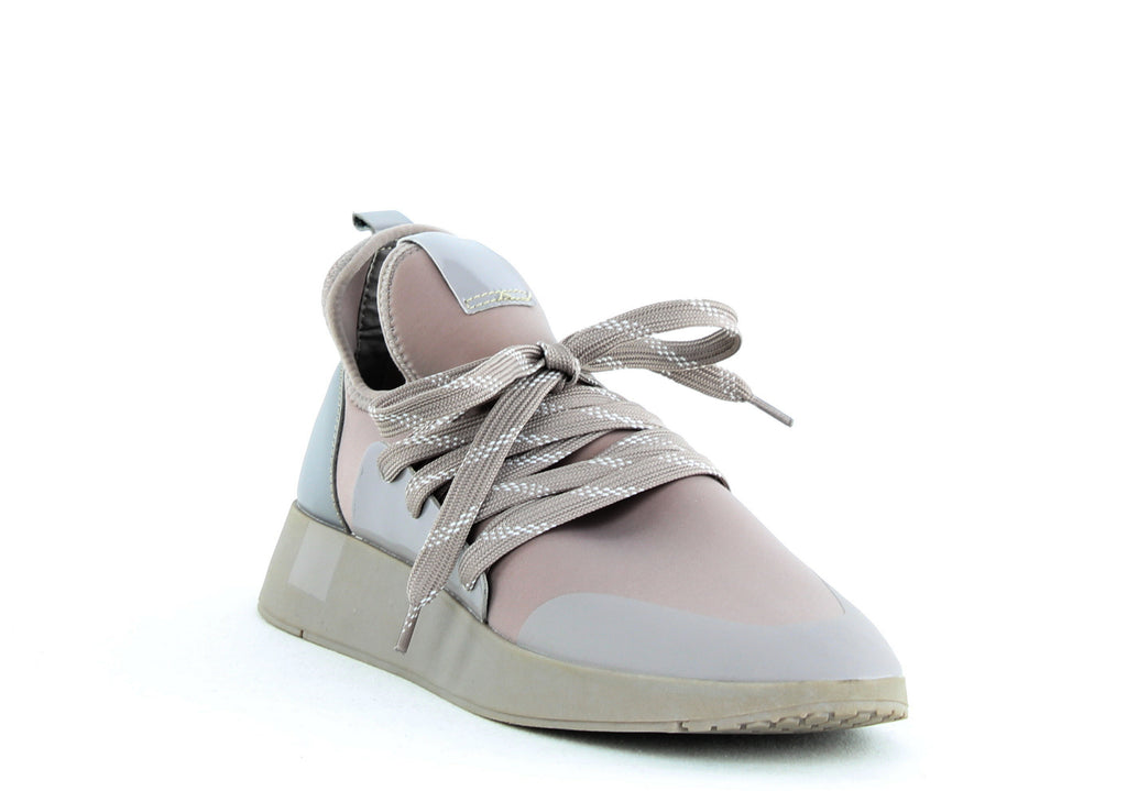 Yieldings Discount Shoes Store's Shady Sneakers by Steve Madden in Grey