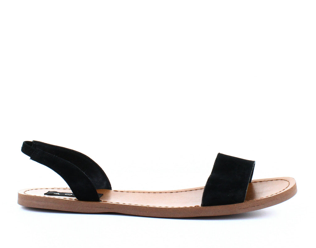 Yieldings Discount Shoes Store's Cece Sandals by Aqua in Black Nubuck