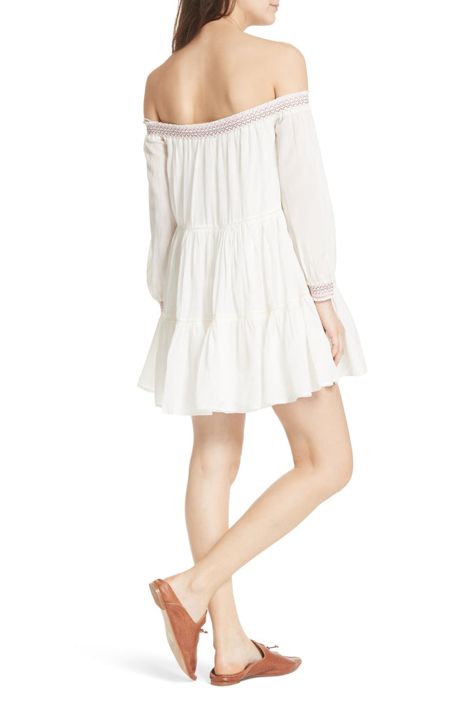 Yieldings Discount Clothing Store's Sunbeams A-Line Dress by Free People in Ivory