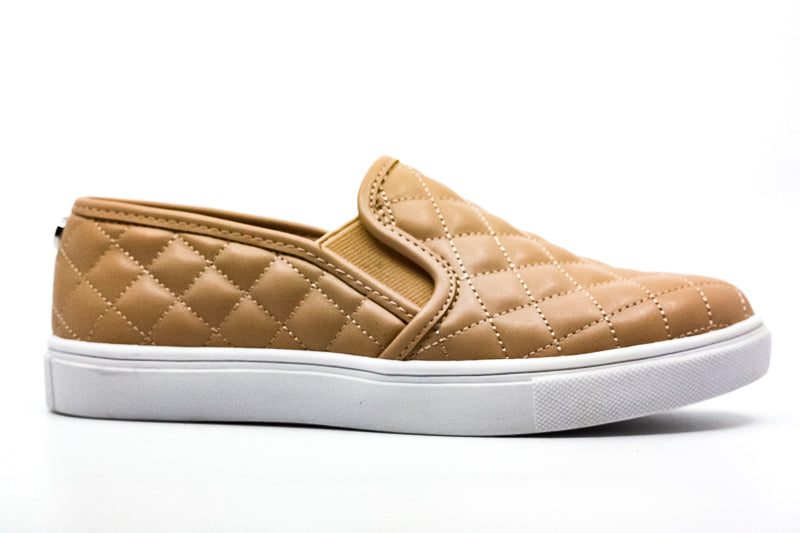 Yieldings Discount Shoes Store's Ecentrcq Slip-On Sneakers by Steve Madden in Nude