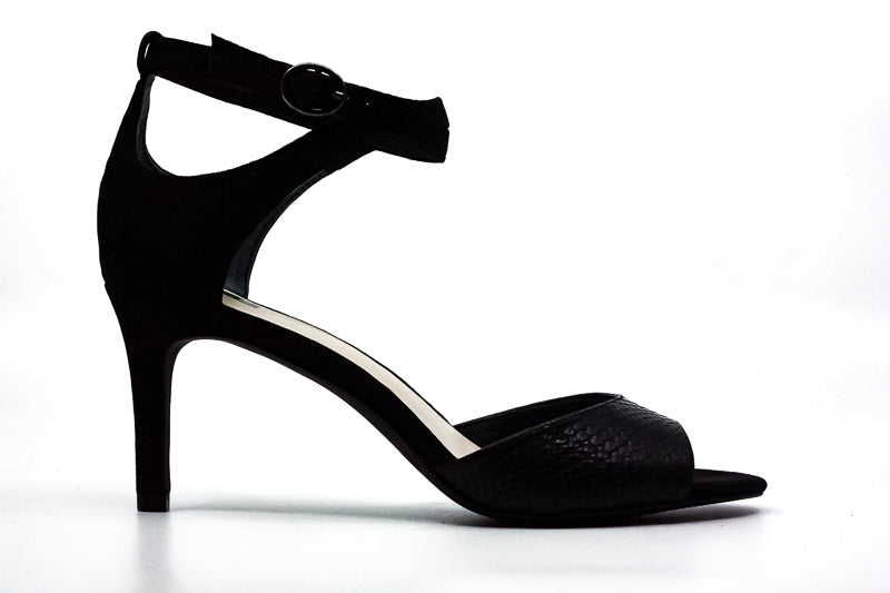 Yieldings Discount Shoes Store's Galeah Heel Sandals by Alfani in Black