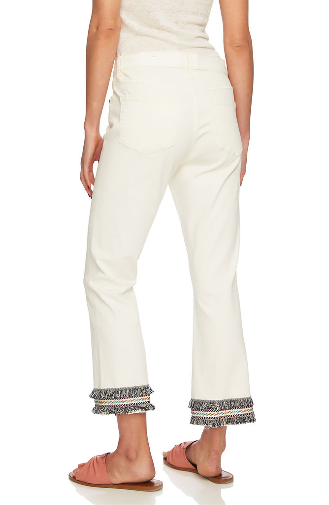 Yieldings Discount Clothing Store's Cropped Jeans by 1.State in Antique White