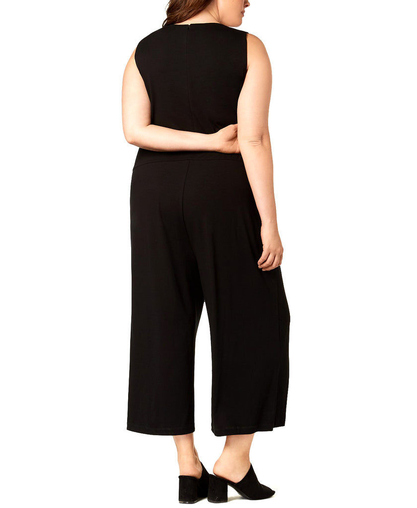 Eileen Fisher | Cropped Wide-Leg Jumpsuit