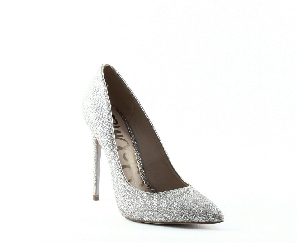 Yieldings Discount Shoes Store's Danna Pumps by Sam Edelman in Light Gold Mesh