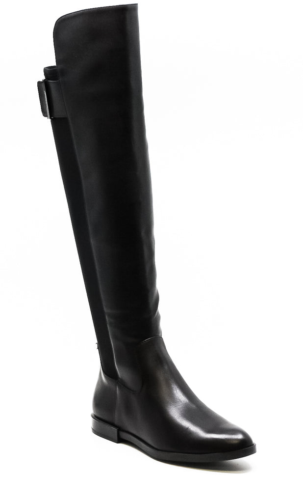 Calvin Klein | Priya Leather Over-The-Knee Boots