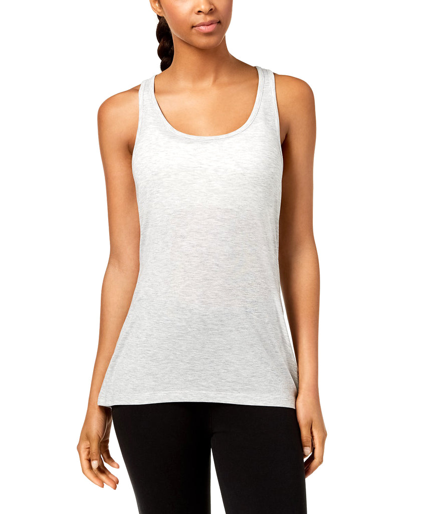 Yieldings Discount Clothing Store's Mesh Racerback Tank Top by Ideology in Whisper Heather