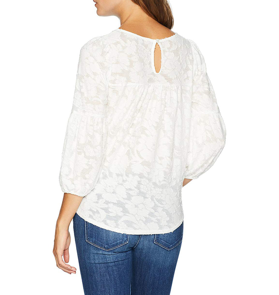 Lucky Brand | Peasant Blouse Top