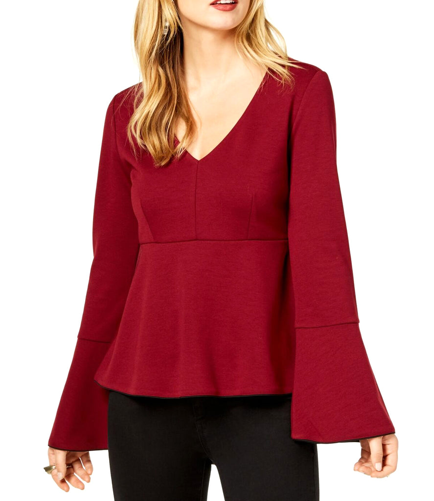 Rachel Zoe | Bell Sleeve V-Neck Empire Waist Top