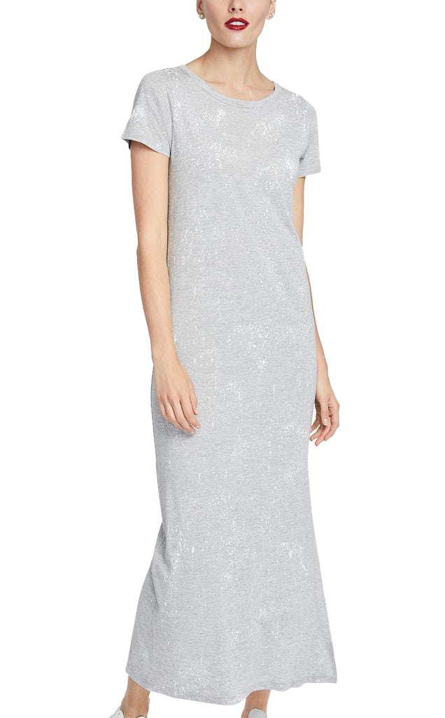 Yieldings Discount Clothing Store's Imogen Maxi Dress by RACHEL Rachel Roy in Charcoal Heather