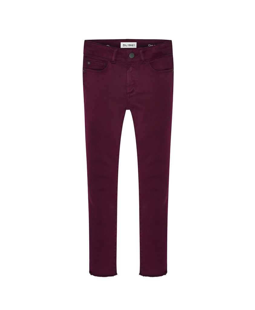 Yieldings Discount Clothing Store's Chloe - Skinny by DL1961 in Eggplant