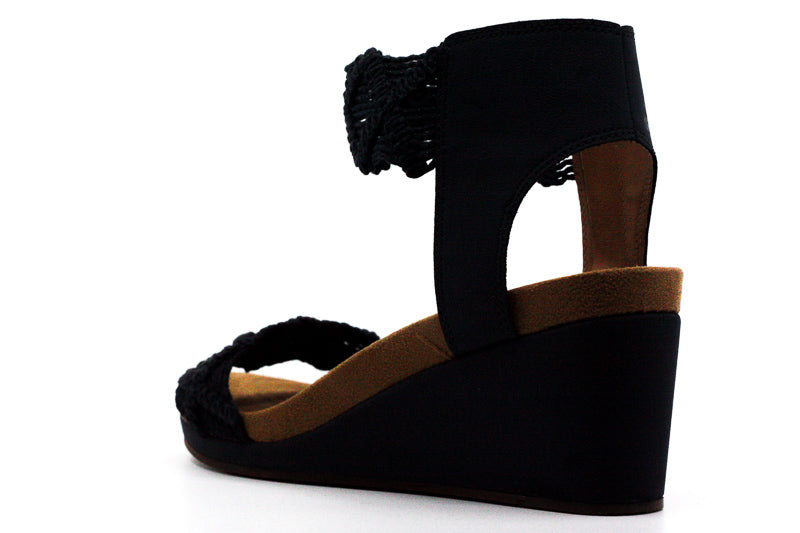 Lucky Brand | Kierlo Macrame Wedge Sandals