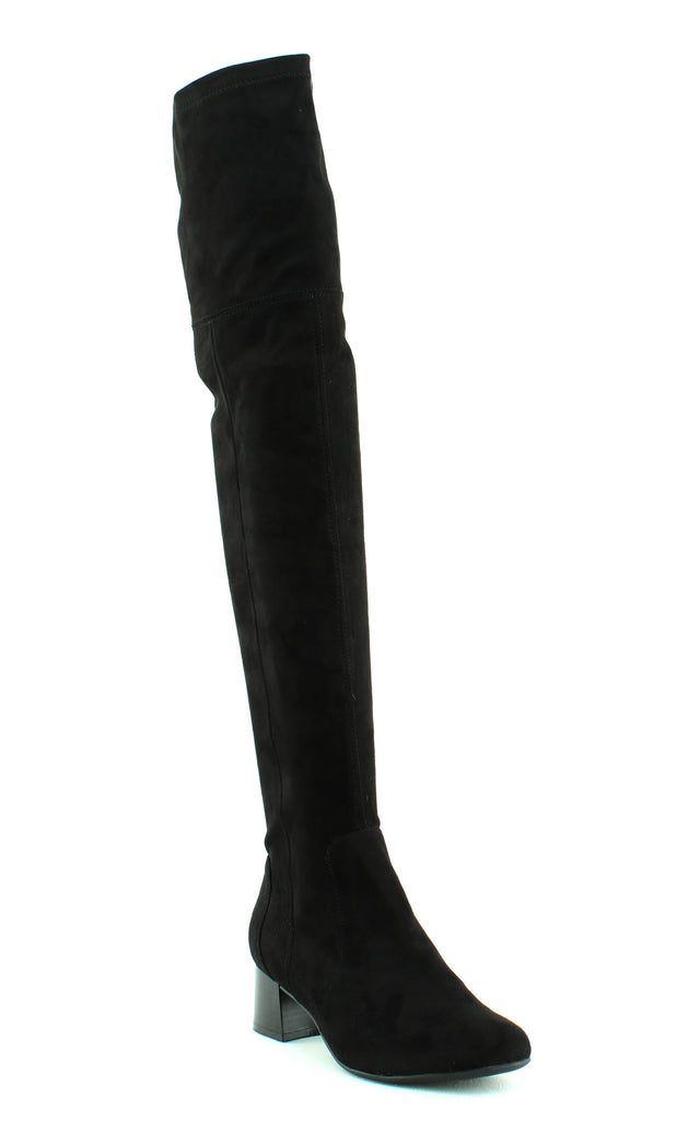 Yieldings Discount Shoes Store's Danton Over-the-Knee Boots by Naturalizer in Black