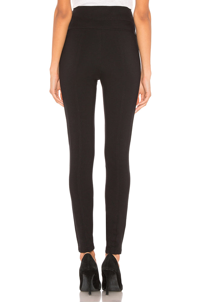 Yieldings Discount Clothing Store's Pull on Ponte Pants by Free People in Black