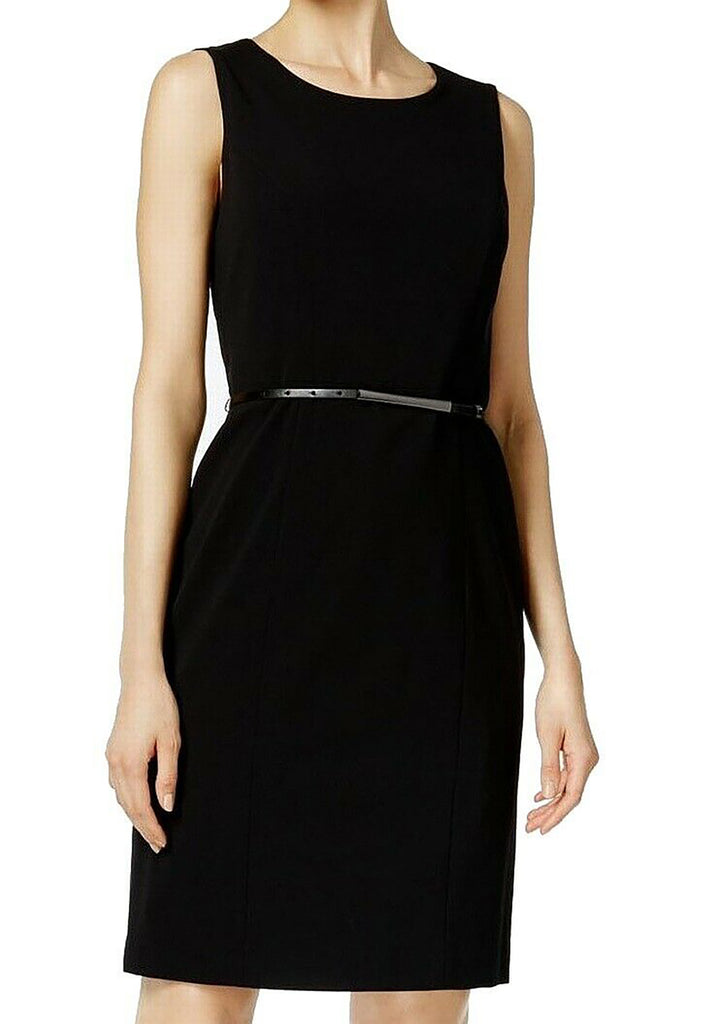 Nine West | Belted Sheath Dress