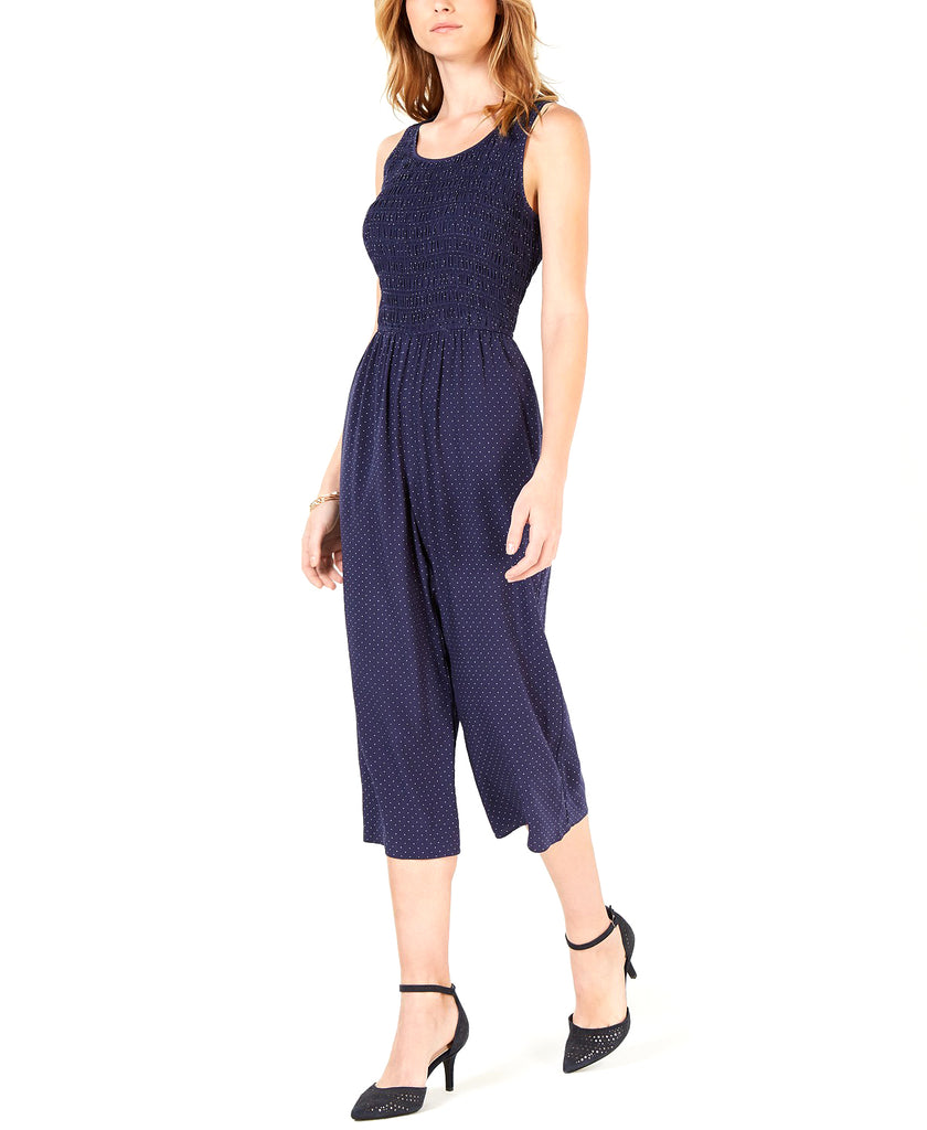 Maison Jules | Polka-Dot Cropped Jumpsuit
