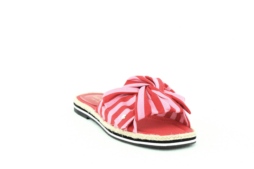 Yieldings Discount Shoes Store's Caliana Sandals by Kate Spade in Pink Red