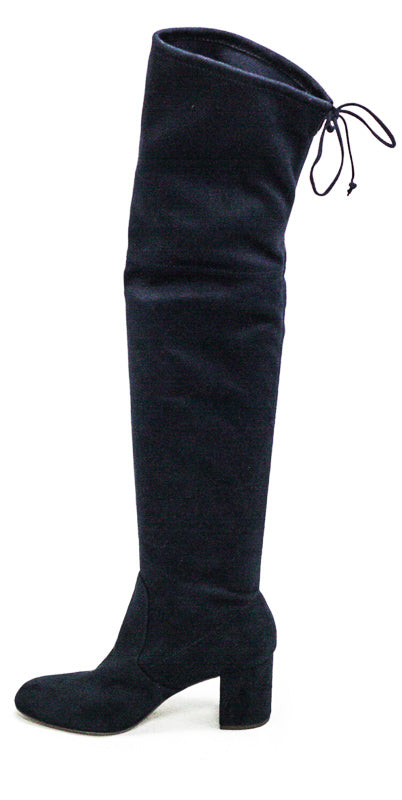 Yieldings Discount Shoes Store's Owen Knee High Boots by Charles By Charles David in Midnight Blue