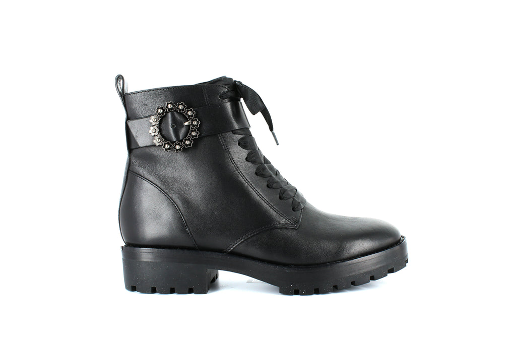 Yieldings Discount Shoes Store's Ryder Ankle Boots by MICHAEL Michael Kors in Black