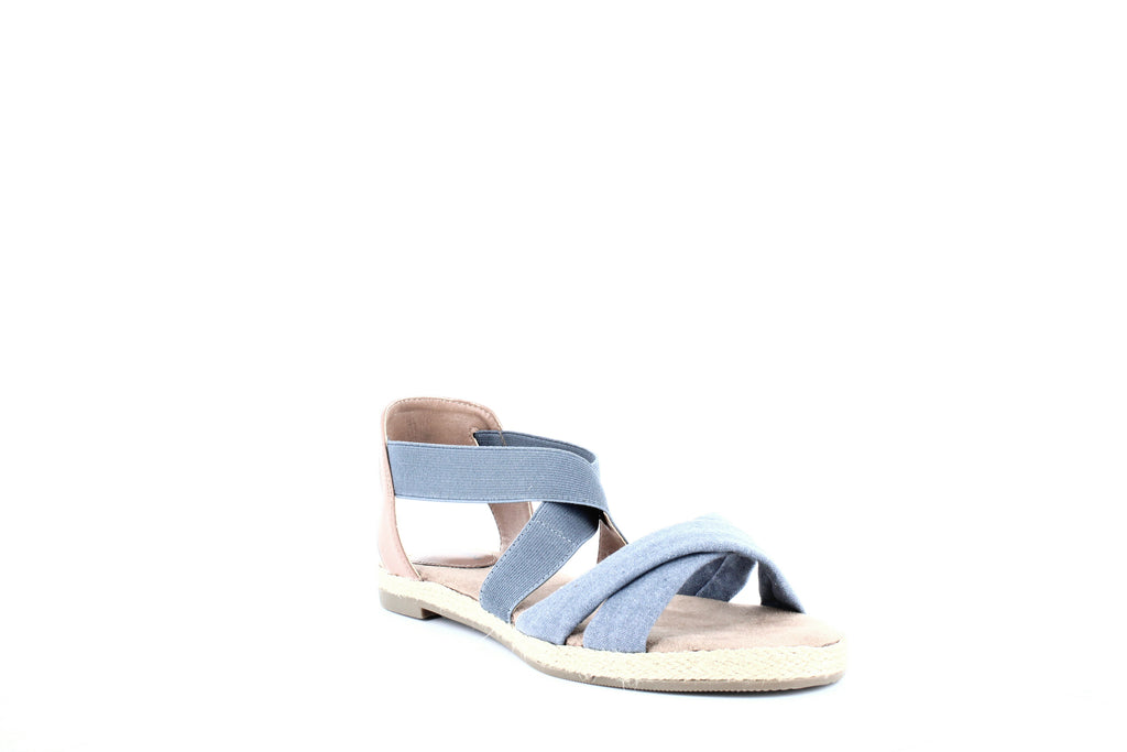 Yieldings Discount Shoes Store's Colbey 2 Espadrille Sandals by Giani Bernini in Denim