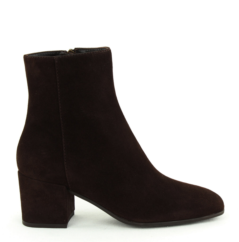 Aquatalia | Charlee Dress Suede Block Heel Boots