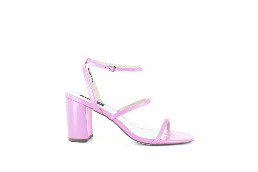 Yieldings Discount Shoes Store's Maika Block-Heel Sandals by Aqua in Hot Pink