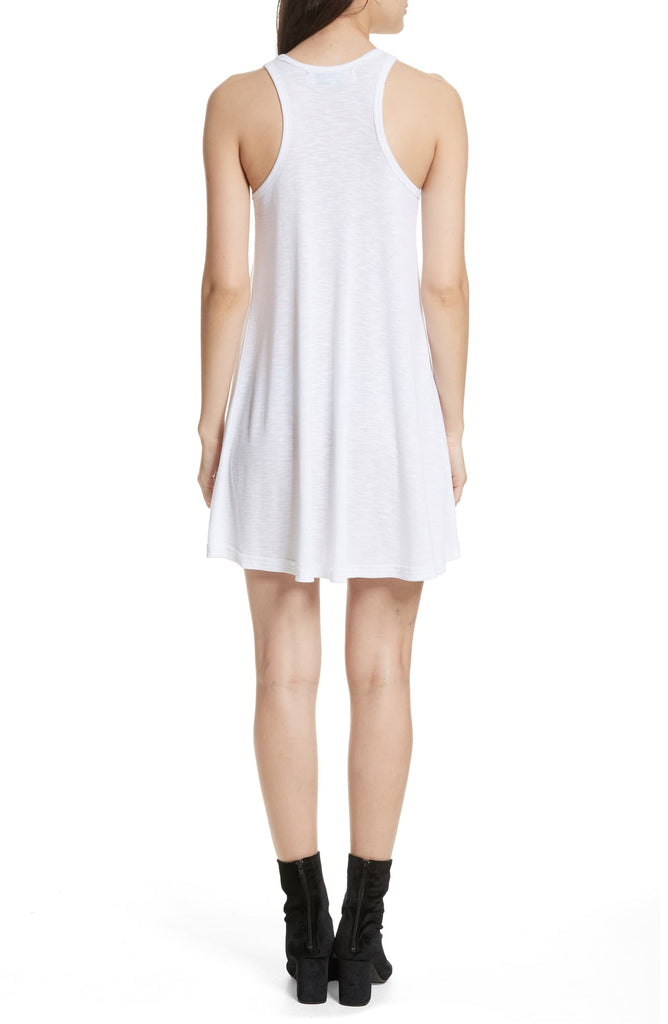 Yieldings Discount Clothing Store's LA Nite Tank Dress by Free People in White